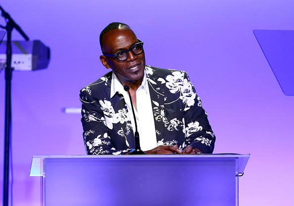 Randy Jackson speaks onstage during the 24th Annual Race To Erase MS Gala at The Beverly Hilton Hotel in May. (Getty Images)
