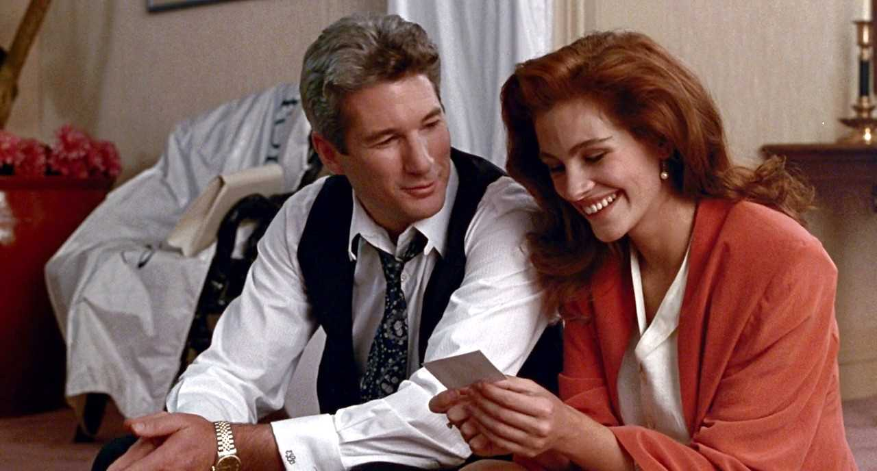 Love is also not about a man waiting in a limo. (Richard Gere and Julia Roberts in a scene from Pretty Woman) Source: IMDb
