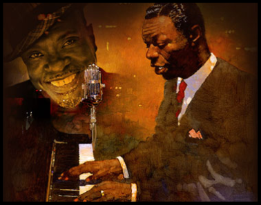 A poster for Keith David's 'Too Marvelous for Words: A Celebration of Nat King Cole'