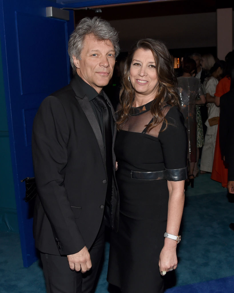 Jon Bon Jovi and Dorothea Hurley attend the 2017 CFDA Fashion Awards Cocktail Hour at Hammerstein Ballroom on June 5, 2017, in New York City. (Getty Images)