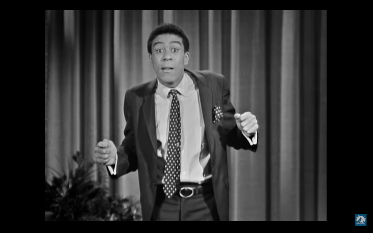 Comic Richard Prior during one of his stand-up acts in the 1960s. (Source: I am Richard Pryor)