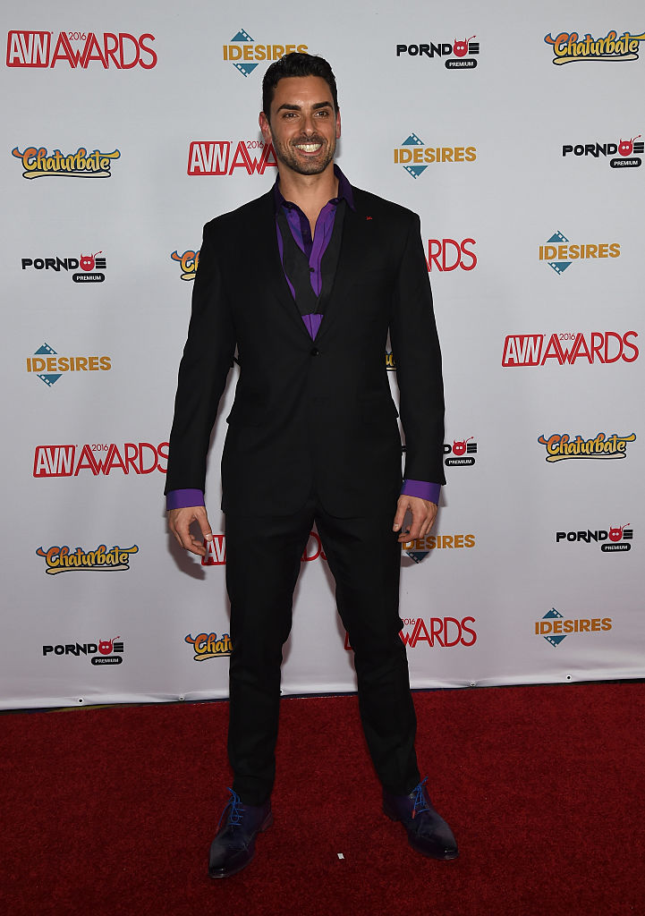 Adult film actor Ryan Driller attends the 2016 Adult Video News Awards at the Hard Rock Hotel & Casino on January 23, 2016 in Las Vegas, Nevada. (Photo by Ethan Miller/Getty Images)
