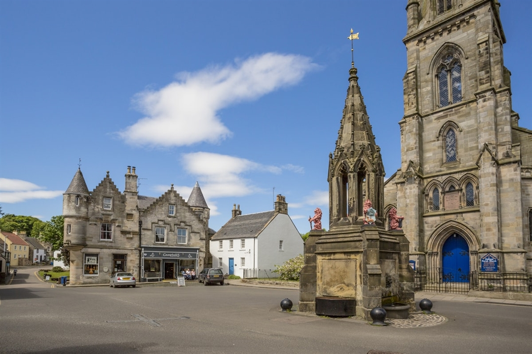 Falkland is a picturesque town in Fife, famous for its royal palace (Visit Scotland)