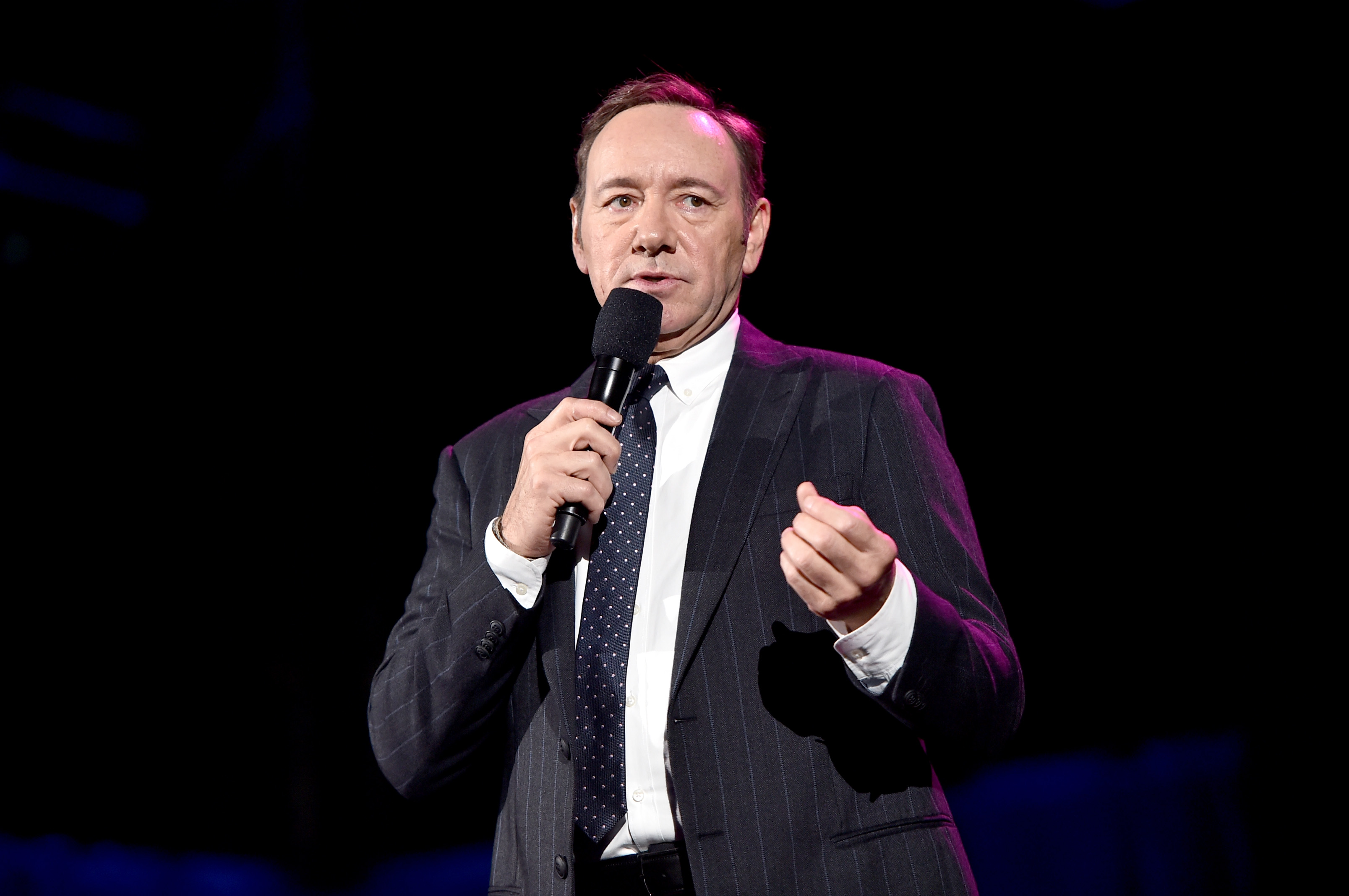 "Spacey is due to be formally charged with ""indecent assault and battery on a person over 14 years of age"" on January 7 (Source: Alberto E. Rodriguez/Getty Images for MPTF)"
