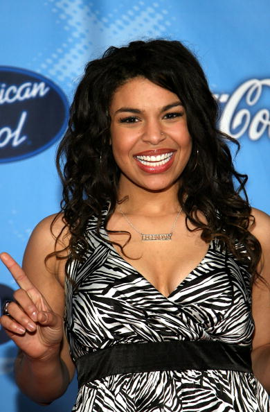 American Idol contestant Jordin Sparks arrives to American Idol's Annual Top 12 party held at the Astra West/Pacific Design Center on March 8, 2007 in Los Angeles, California. (Photo by Michael Buckner/Getty Images)