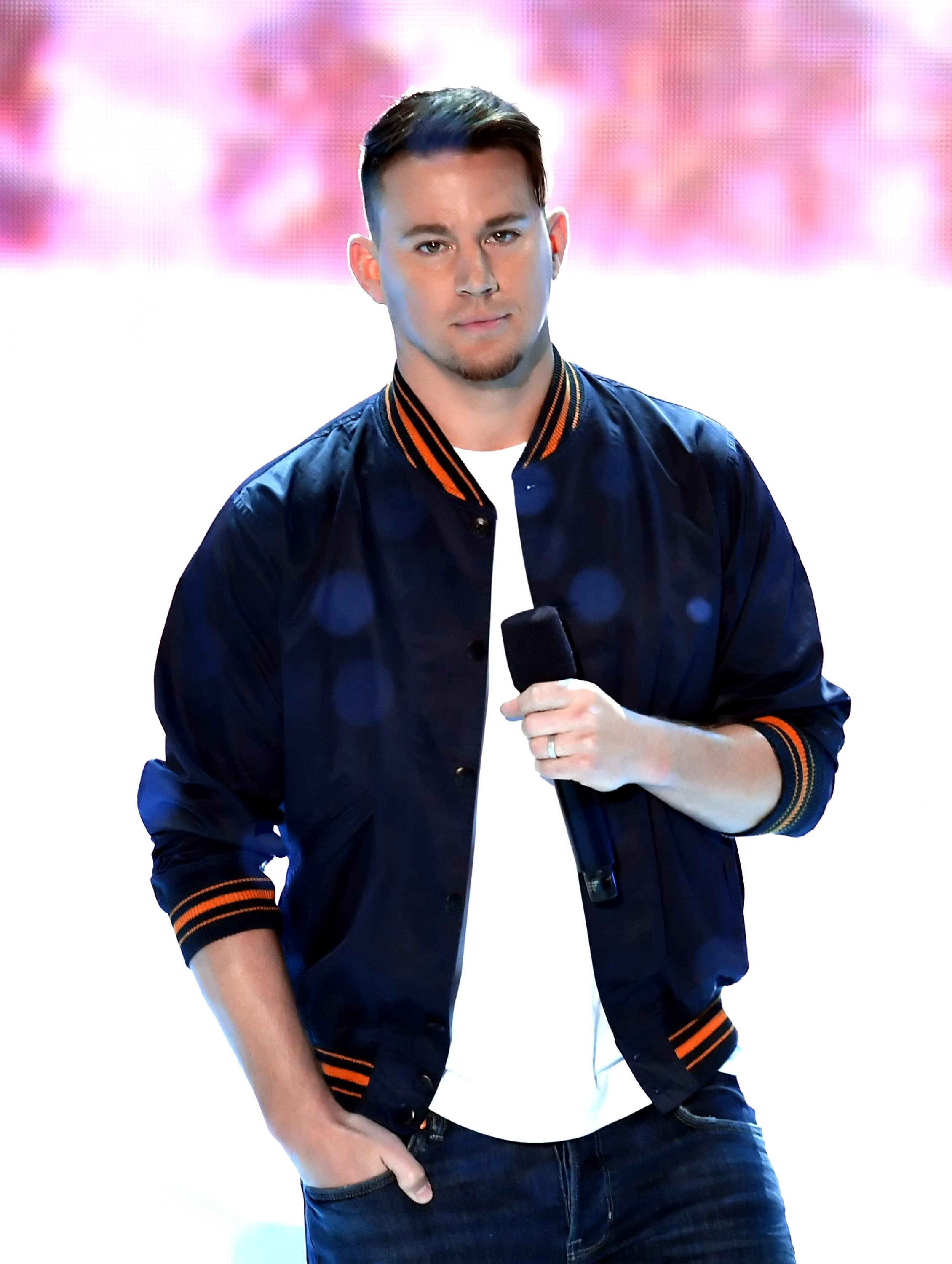 Channing Tatum speaks onstage at Nickelodeon's 2018 Kids' Choice Awards at The Forum on March 24, 2018 in Inglewood, California.