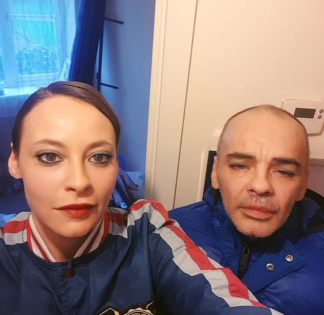 "On December 22 last year, Louise Gray (L), 36, was engaging in sexual intercourse with her boyfriend Sean Marsden (R), 48, when he apparently slipped and she heard a ""crack."" (Facebook)"