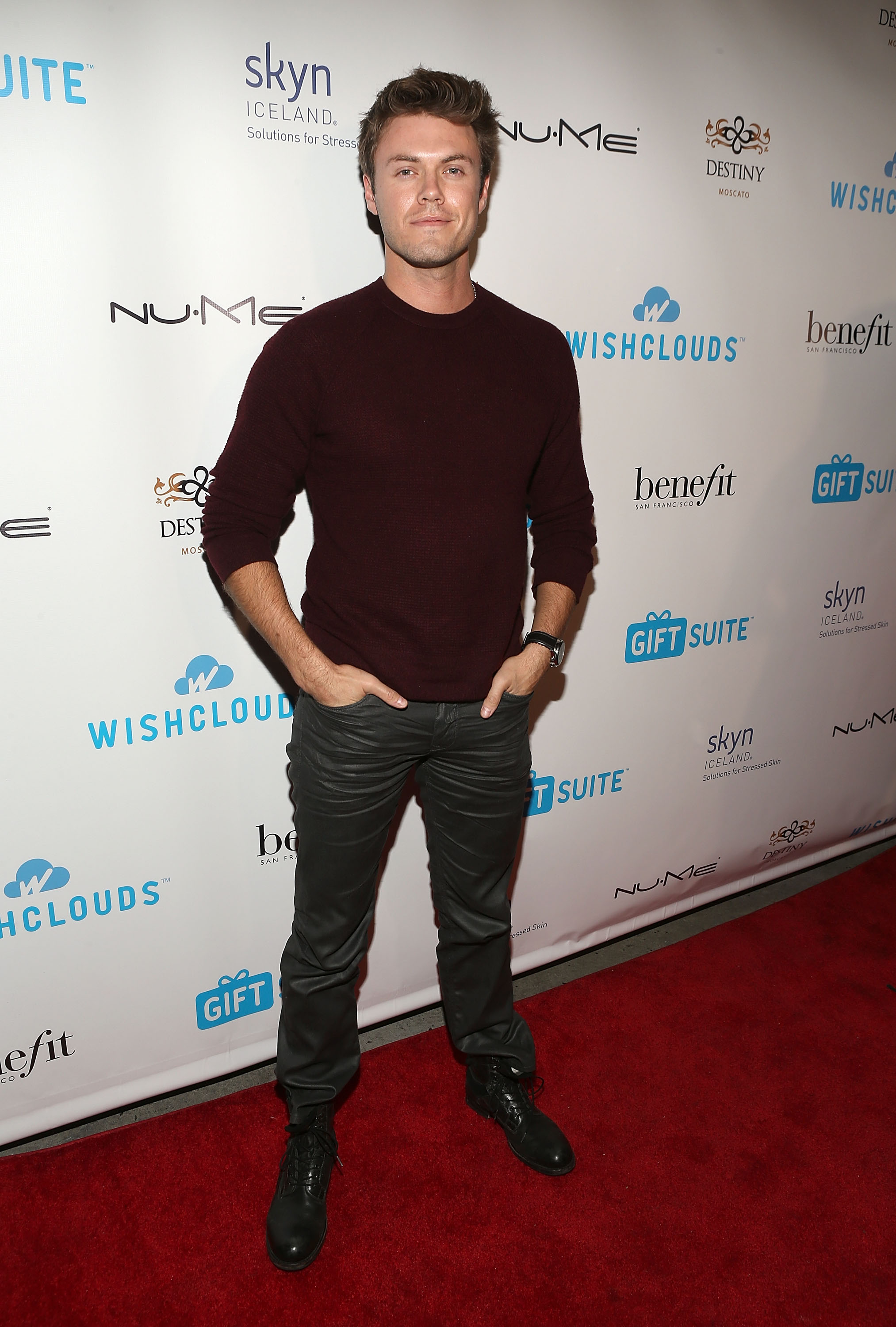 Actor Blake Cooper Griffin attends the WishClouds Launch Party at Bootsy Bellows on November 20, 2014 in West Hollywood, California.