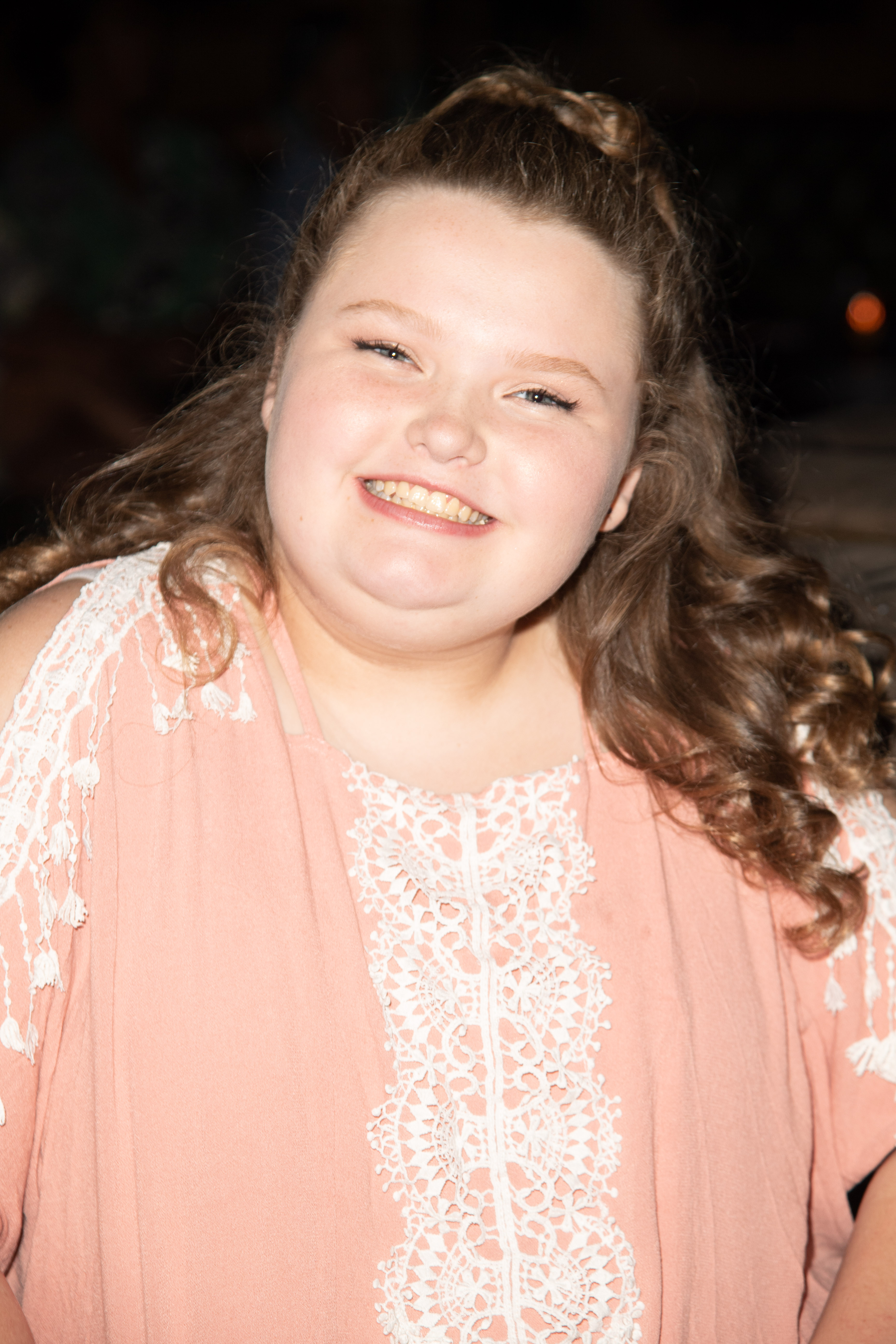 Honey Boo Boo attends the Bossip Best Dressed List Event on July 31, 2018 in Los Angeles, California.