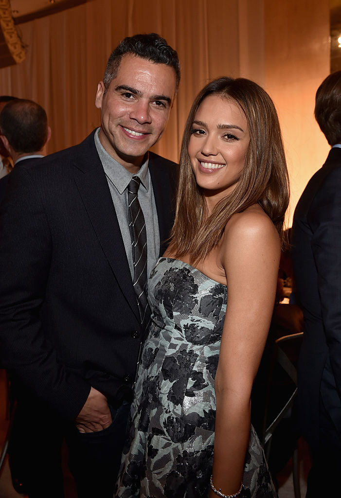 Cash Warren and Jessica Alba (Source: Getty Images)