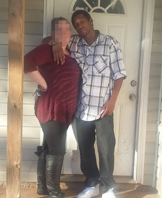 The woman pictured with Nicholas Deon Thrash (R) (Facebook)