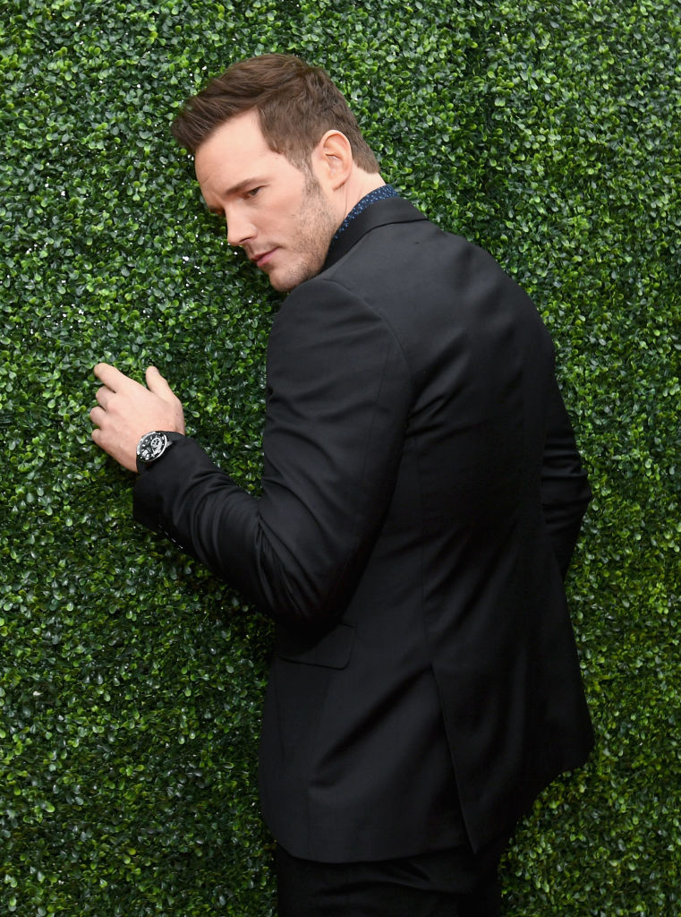 Actor Chris Pratt attends the 2018 MTV Movie And TV Awards at Barker Hangar on June 16, 2018 in Santa Monica, California. (Photo by Emma McIntyre/Getty Images for MTV)
