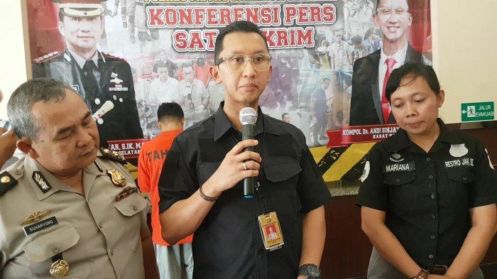 South Jakarta Metro Police's Crime Investigation Unit Chief Commissioner Andi Sinjaya (Source: TribunJakarta.com)