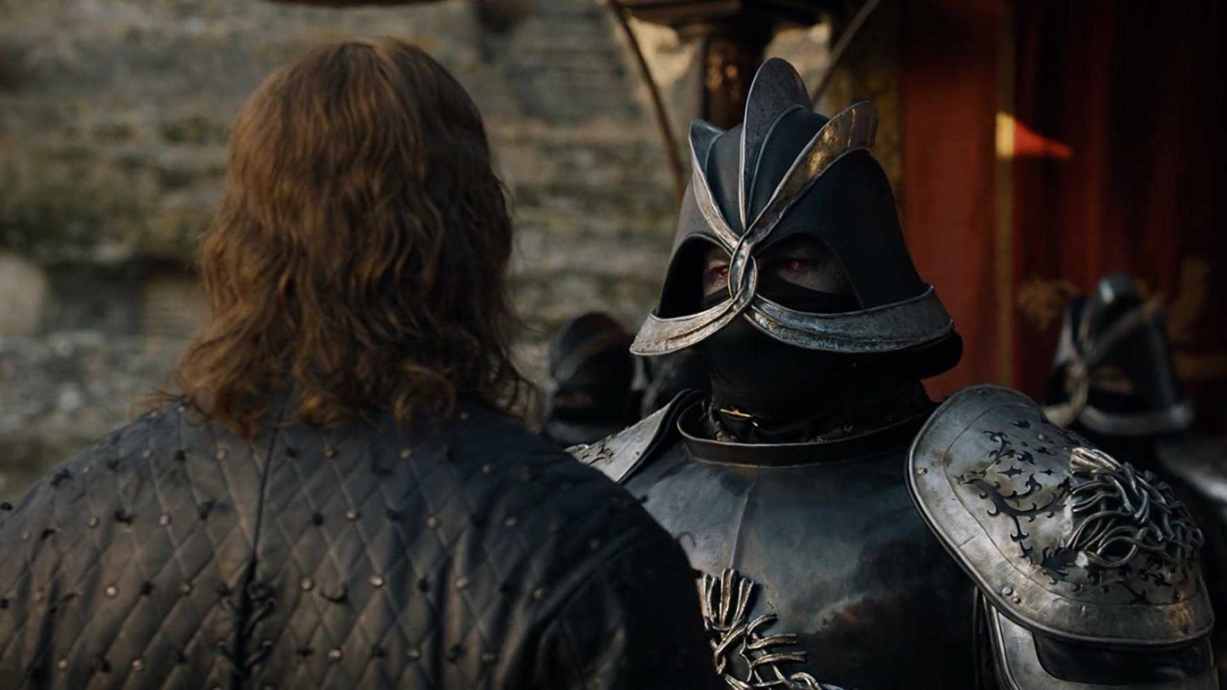 Clegane almost challenged his brother for a face off in the next season. (IMDb)