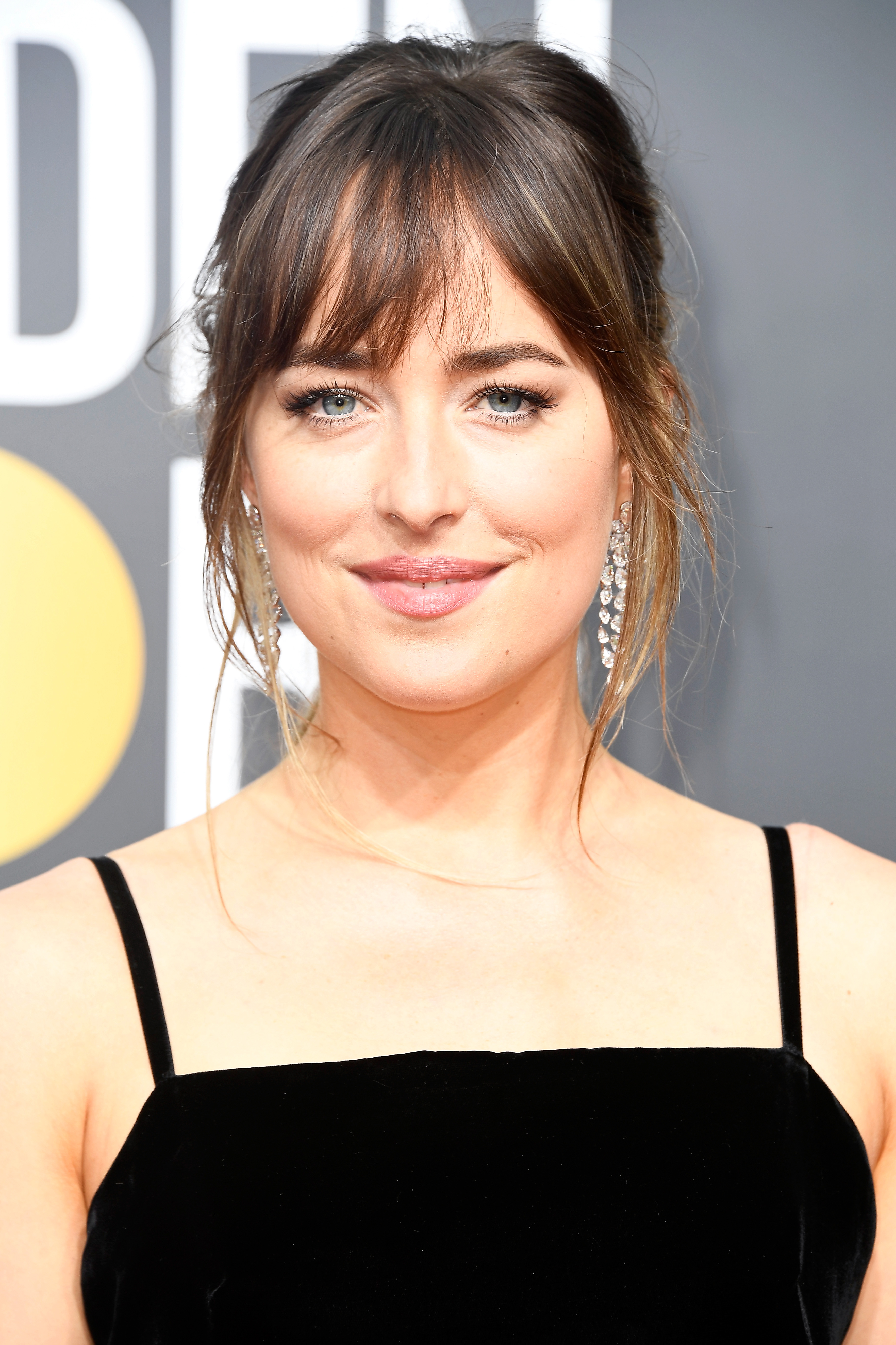Actor Dakota Johnson attends The 75th Annual Golden Globe Awards at The Beverly Hilton Hotel on January 7, 2018 in Beverly Hills, California.