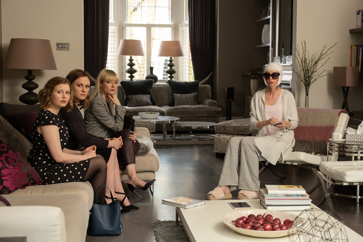 A still from the fourth episode of 'Flack'. (Source: Pop TV)
