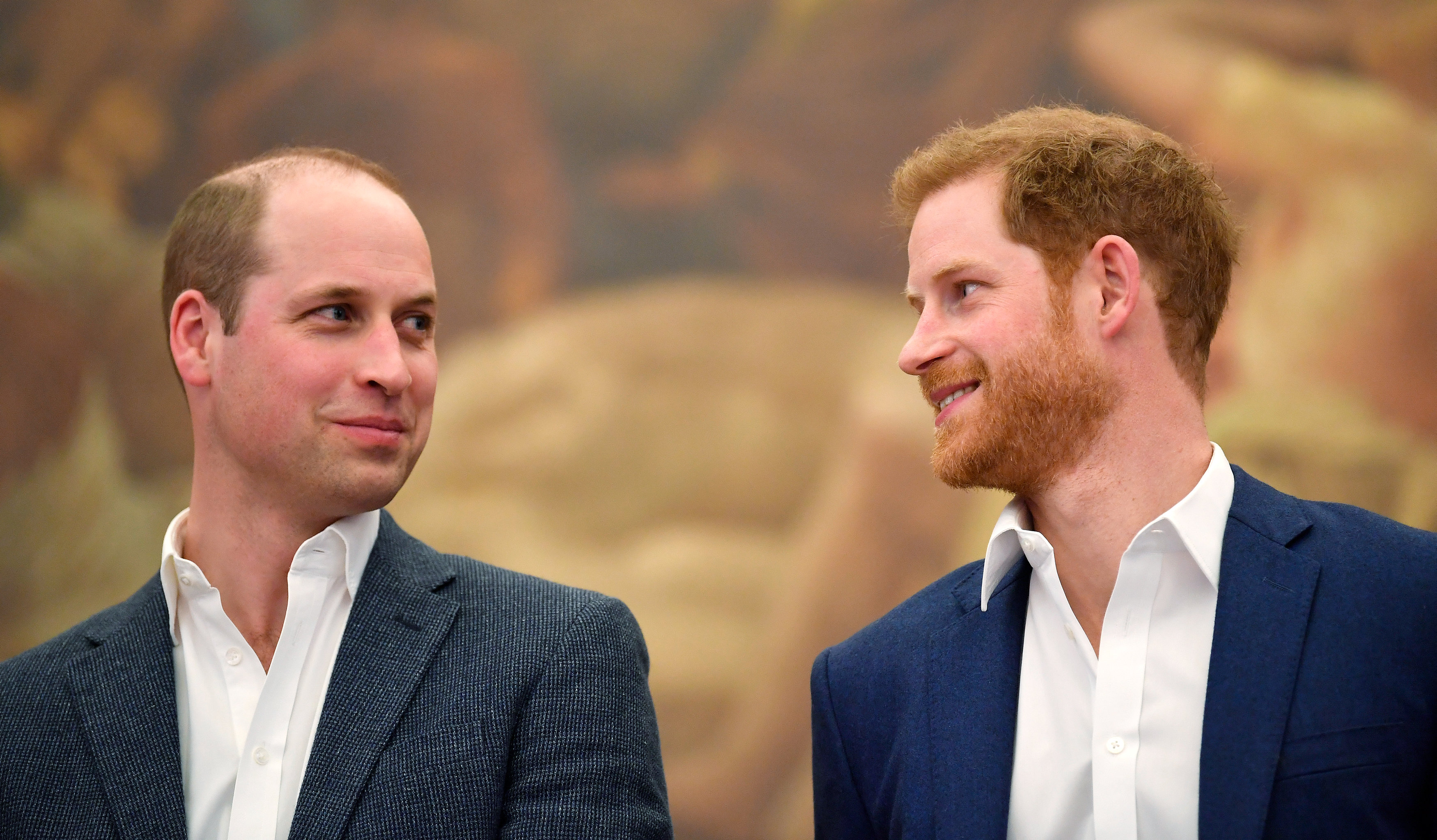 Prince William, Duke of Cambridge and Prince Harry, Duke of Sussex (Source: Getty Images)