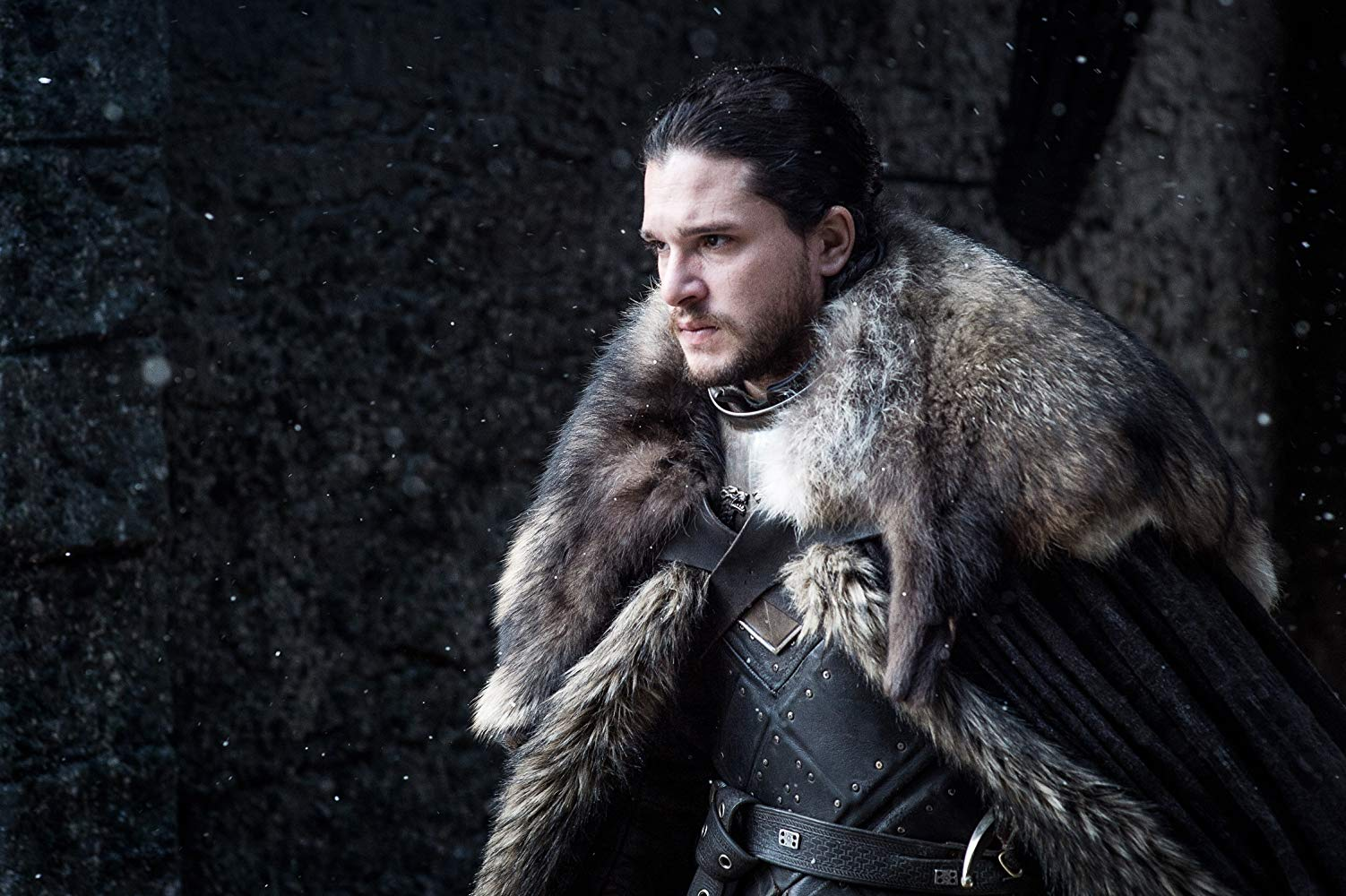 Kit Harington (Jon Snow) in 'Game of Thrones'. (Source: IMDB)