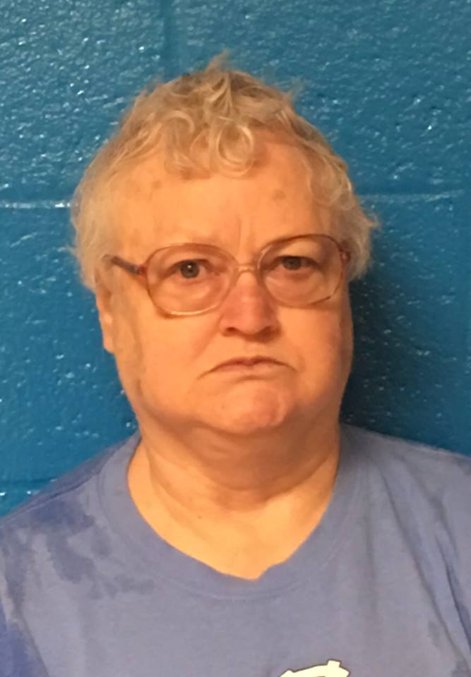 69-year-old Donna Sue Hudgins was arrested and charged with felony concealment of death (Source: Enfield Police Department)