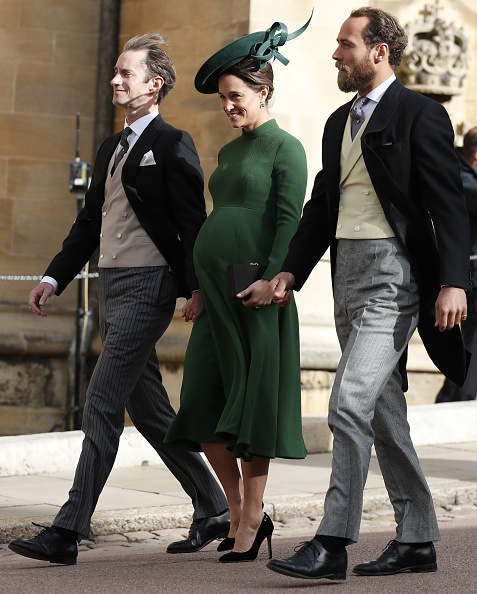 James Matthews, Pippa Middleton, and James Middleton (Source: Getty Images)