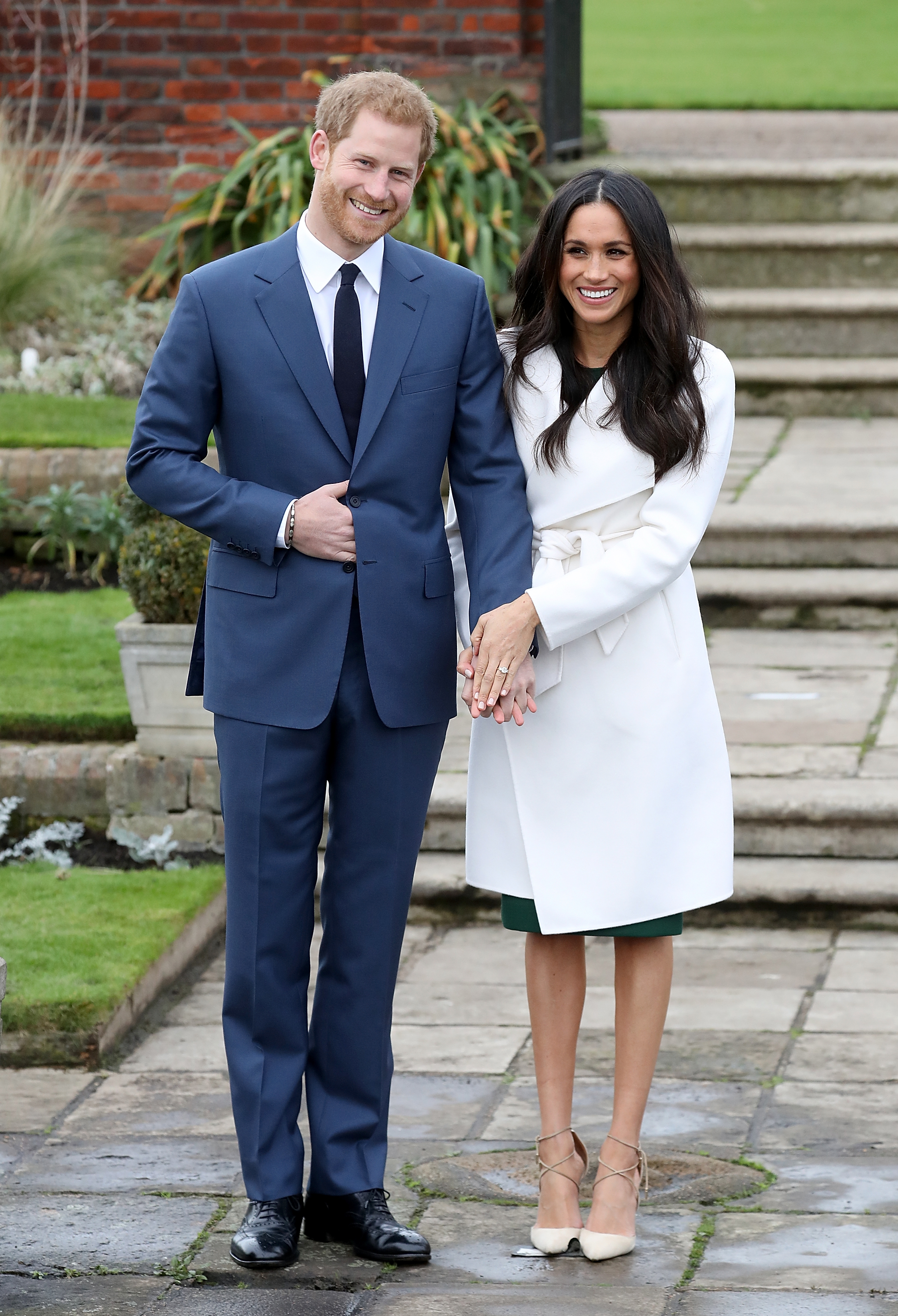 Thomas says Meghan was upset that he said she and Harry wanted to have a baby soon (Photo by Chris Jackson/Chris Jackson/Getty Images)