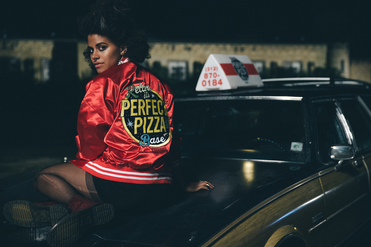 Zazie Beetz in 'Slice'. (Photo by Nolis Anderson, courtesy of A24)