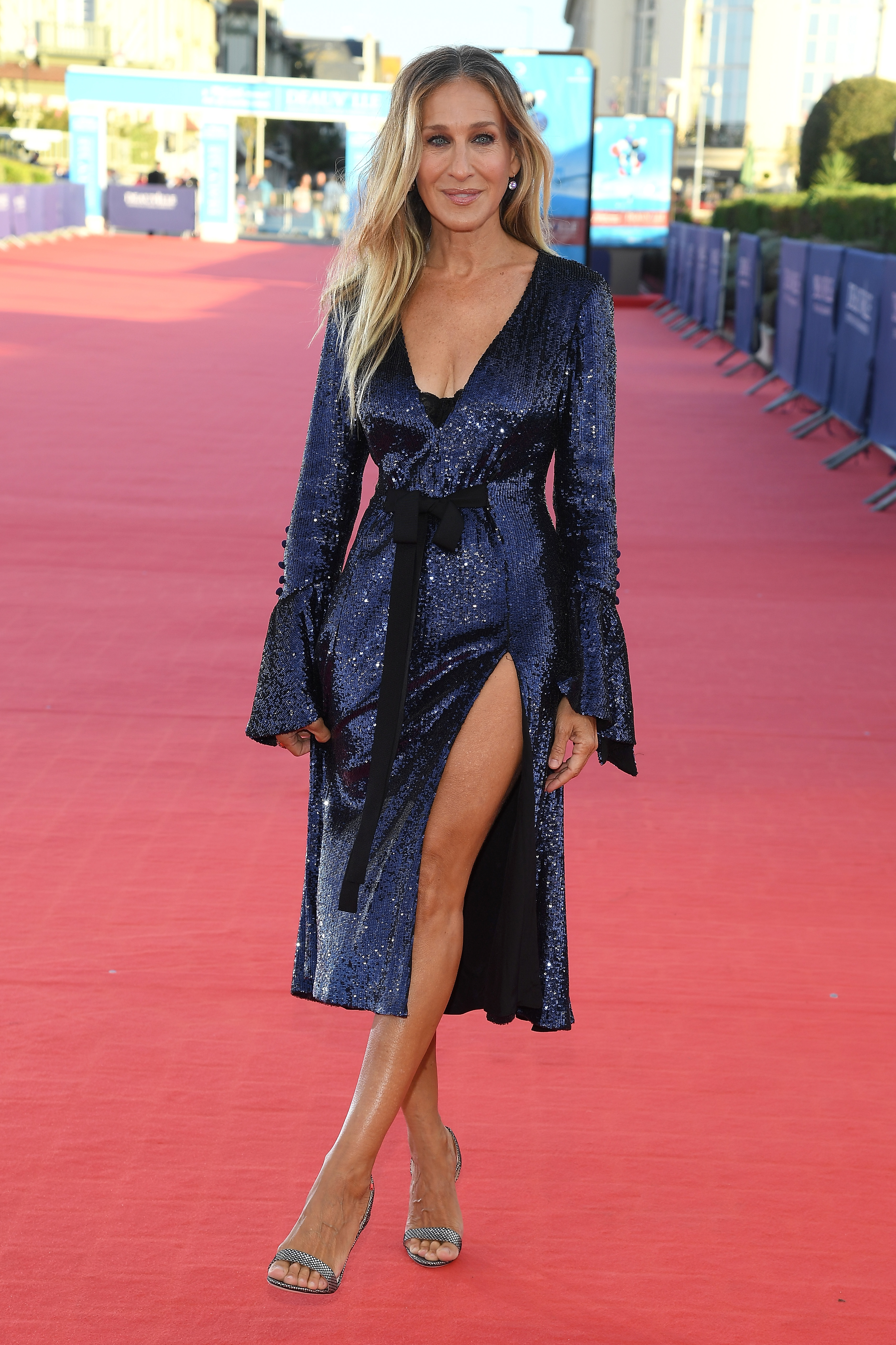 Sarah Jessica Parker attends the premiere of her new film 'Here And Now' on September 6, 2018 in Deauville, France. (Photo by Pascal Le Segretain/Getty Images)