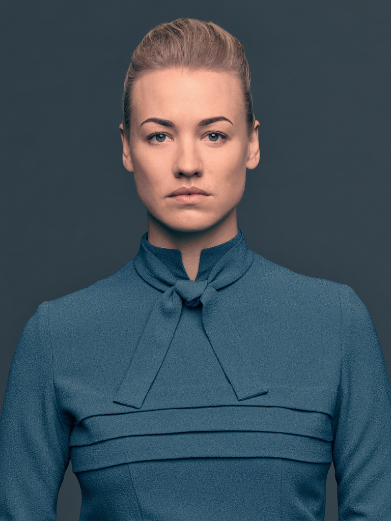 Yvonne Strahovski plays the role of Serena Waterford in 'The Handmaid's Tale'. (Source: Hulu)