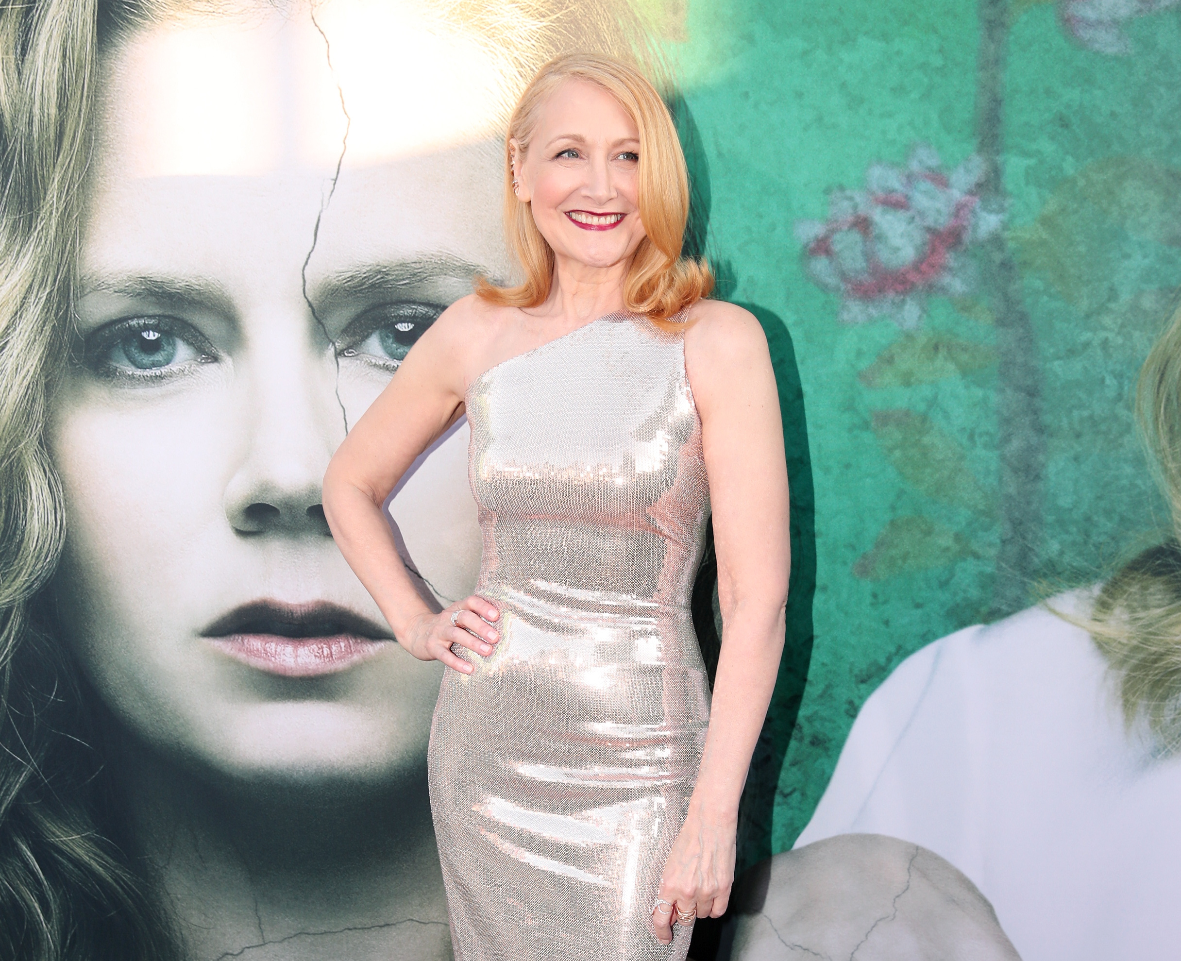 Patricia Clarkson attends the premiere of HBO's 'Sharp Objects' at The Cinerama Dome on June 26, 2018 in Los Angeles, California.(Getty Images)
