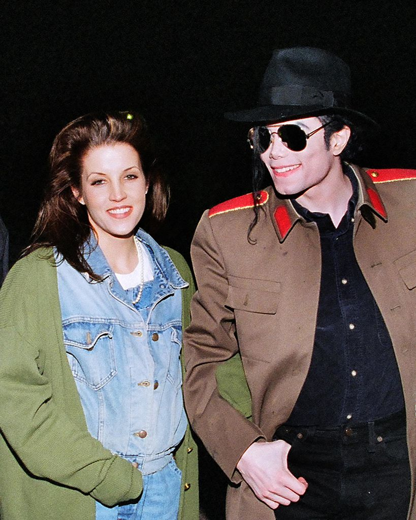 Lisa Marie Presley and Michael Jackson got married in 1994 after which he allegedly cut off from the Safechuck family (Source: Getty Images)