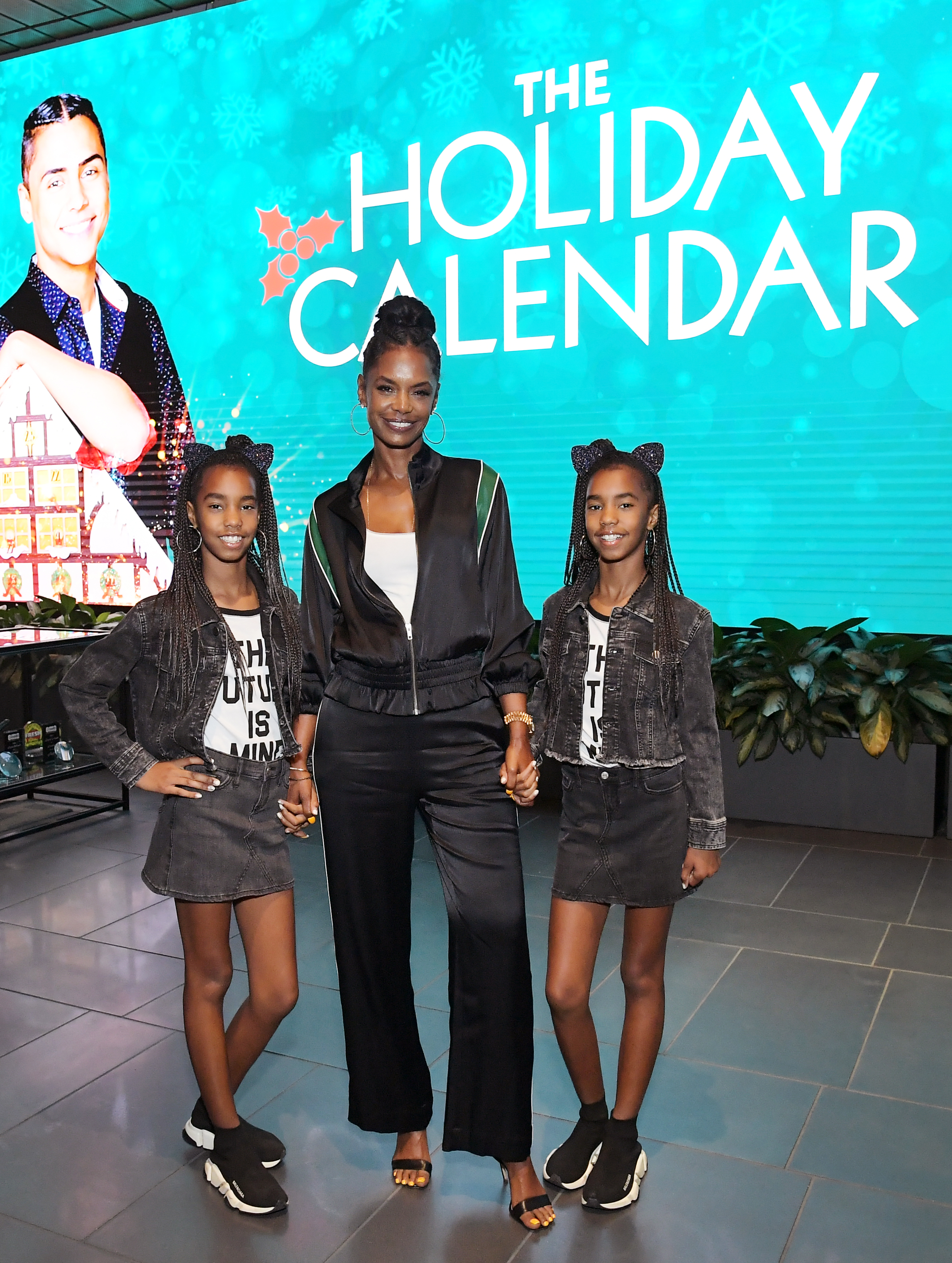 Kim Porter attends 'The Holiday Calendar' Special Screening Los Angeles at NETFLIX Icon Building on October 30, 2018 in Los Angeles, California.