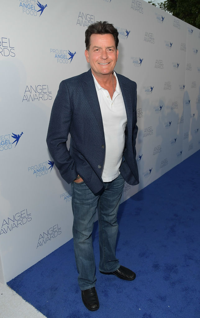 Charlie Sheen attends Project Angel Food's 2018 Angel Awards on August 18, 2018 in Hollywood, California. (Photo by Charley Gallay/Getty Images for Project Angel Food)