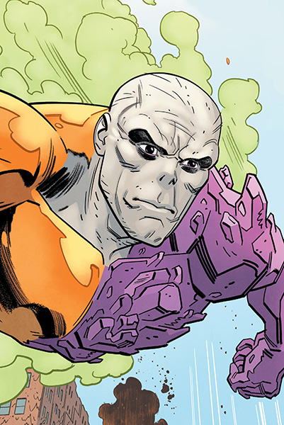 Metamorpho, aka Element Man, a heroic member of 'The Outsiders' and 'The Terrifics' (Source: DC Universe)