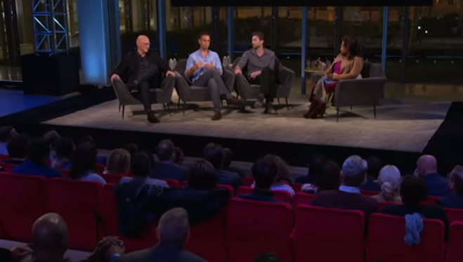 Oprah Winfrey invited Reed, Robson, and Safechuck to talk about 'Leaving Neverland'  (Source: YouTube/HBO)