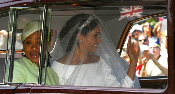 Thomas was glad that Doria could make it to Meghan's wedding. (Getty Images)