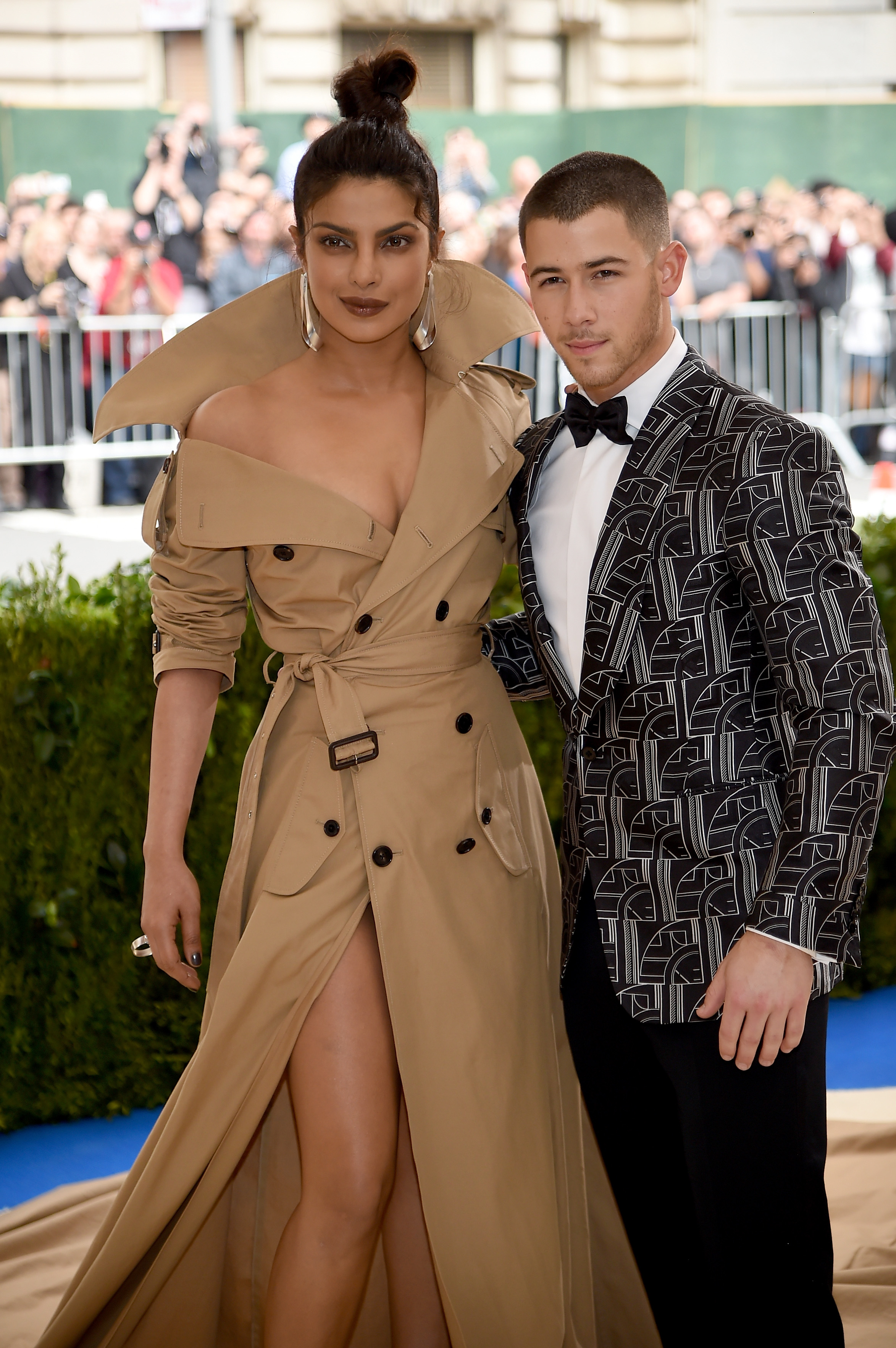 Priyanka Chopra and Nick Jonas made their first public appearance at the MET Gala in 2017 (Photo by Dimitrios Kambouris/Getty Images)