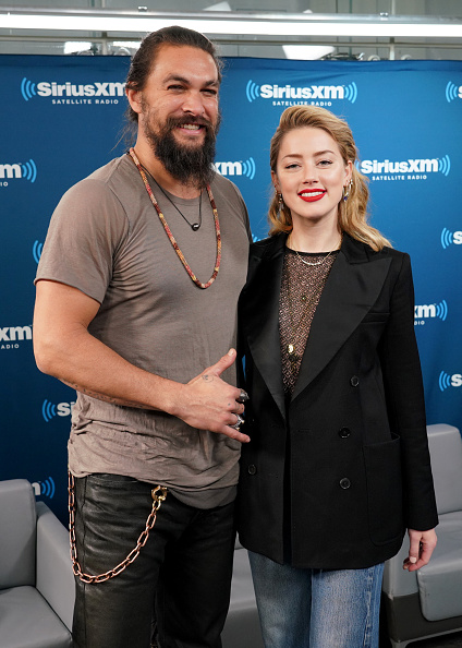 Jason Momoa and Amber Heard will not be making an appearance in the film 'The Trench' (Source: Getty Images)