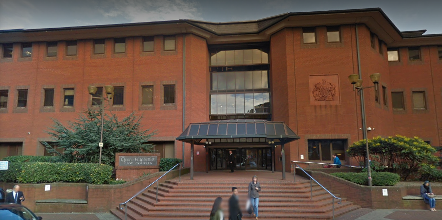 Dalton-Byrne was convicted of murder at the Birmingham Crown Court (Source: Google Maps)