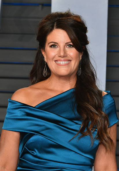 Monica Lewinsky attends the 2018 Vanity Fair Oscar Party hosted by Radhika Jones at Wallis Annenberg Center for the Performing Arts on March 4, 2018 in Beverly Hills, California. (Photo by Dia Dipasupil/Getty Images)