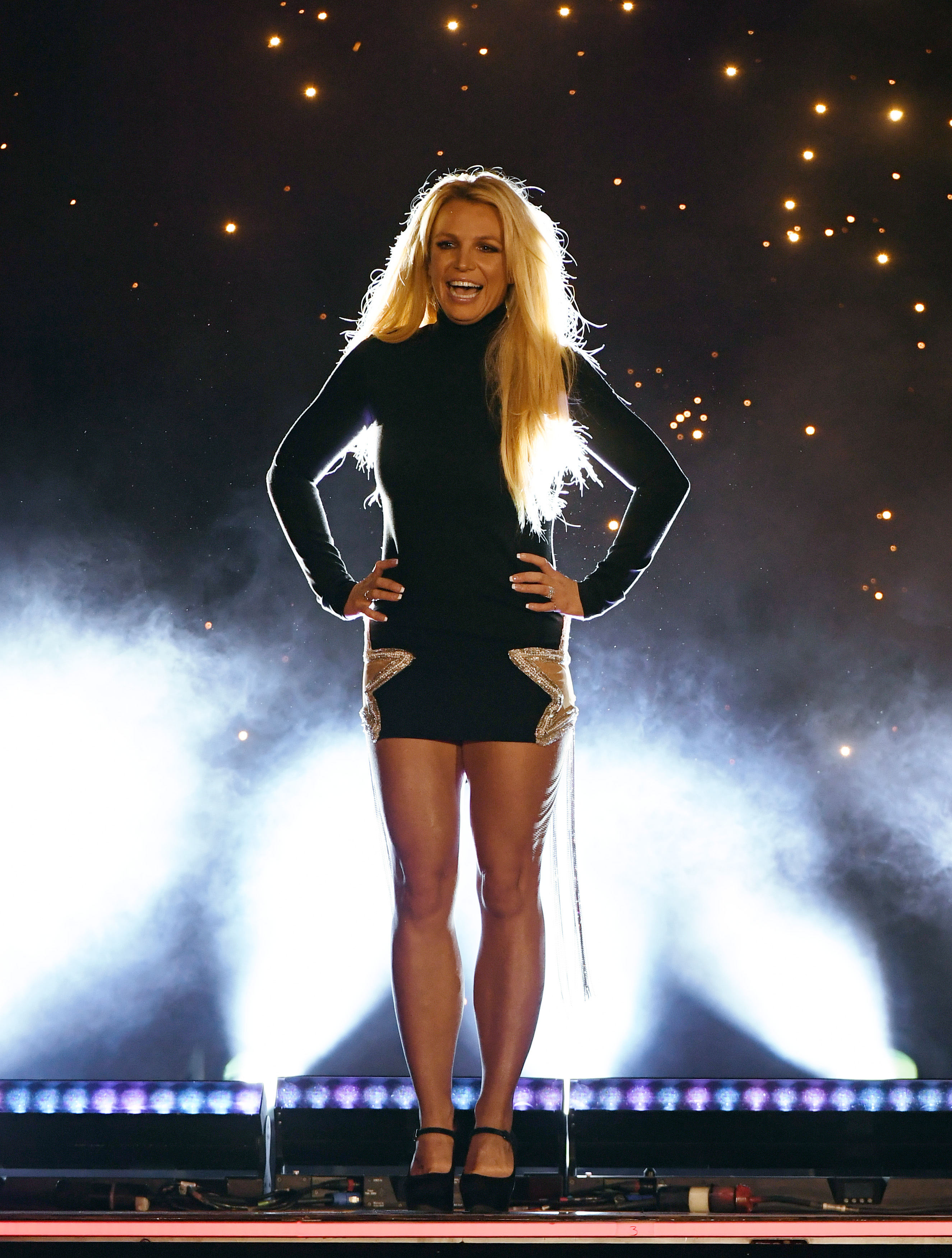 Singer Britney Spears attends the announcement of her new residency, 'Britney: Domination' at Park MGM on October 18, 2018 in Las Vegas, Nevada. Spears will perform 32 shows at Park Theater at Park MGM starting in February 2019.