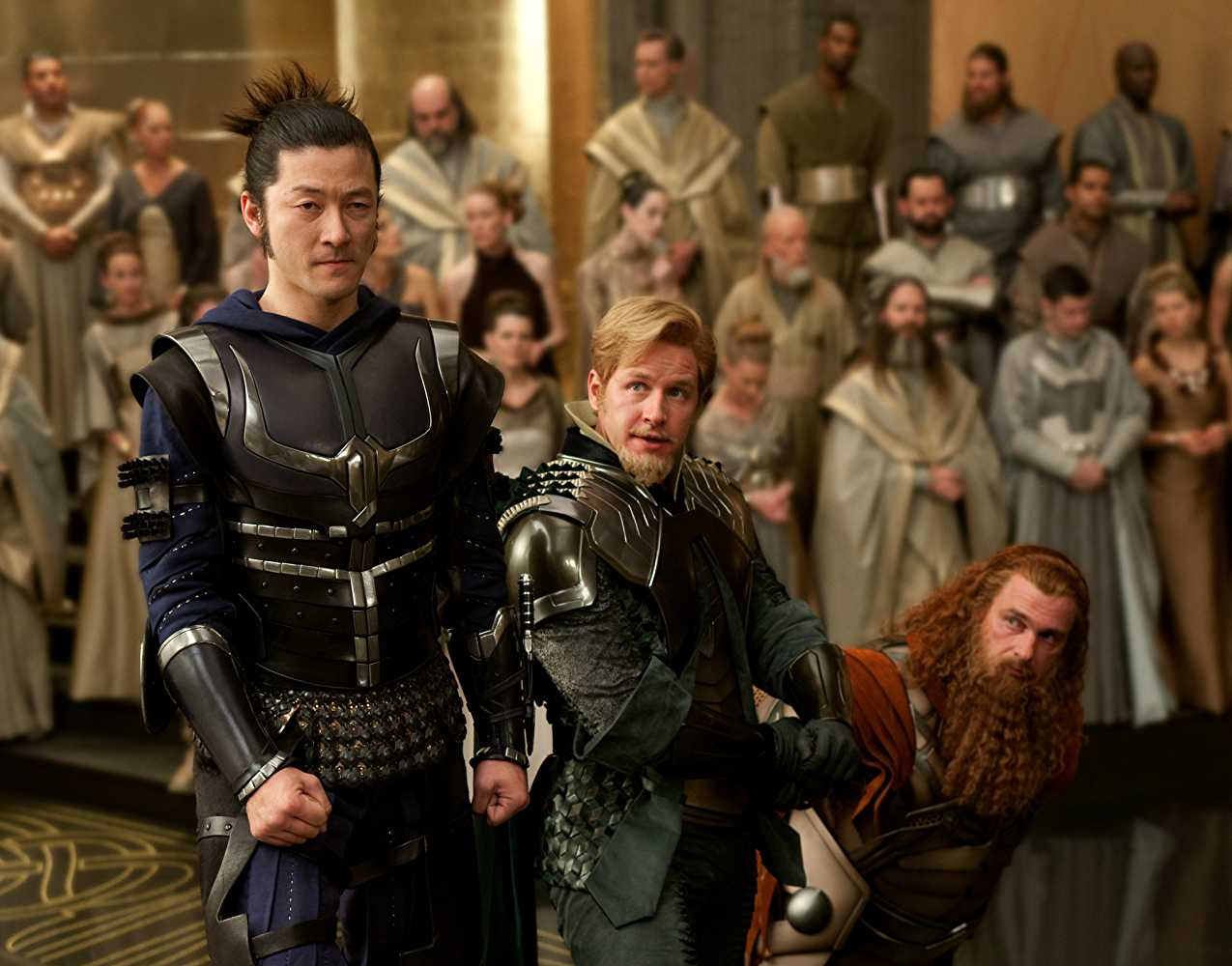 Dallas played Fandral the Dashing in 2011's 'Thor'. (IMDb)