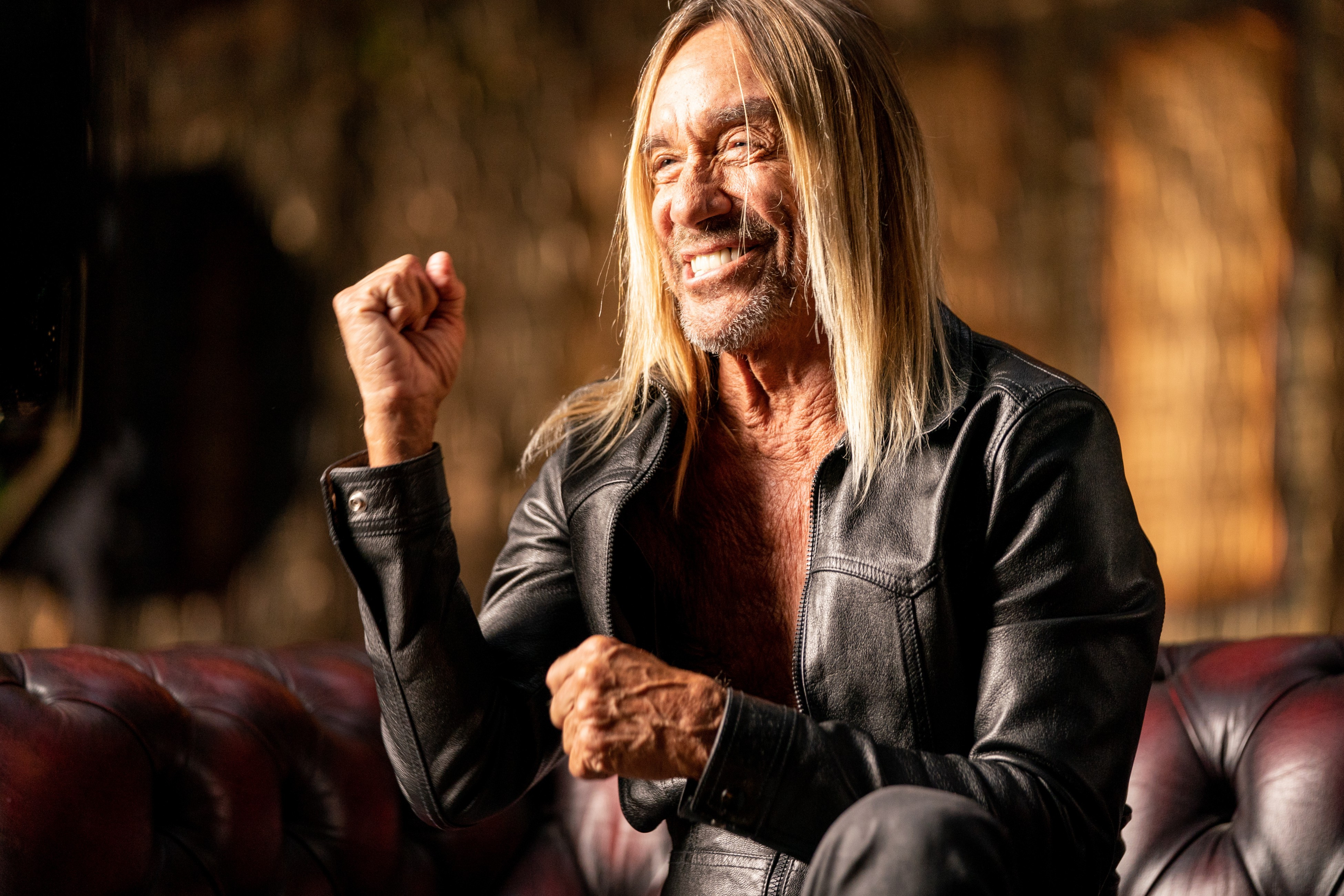 Iggy Pop, frontman for The Stooges and executive producer for Punk (Source: Hopper Stone/Epix)