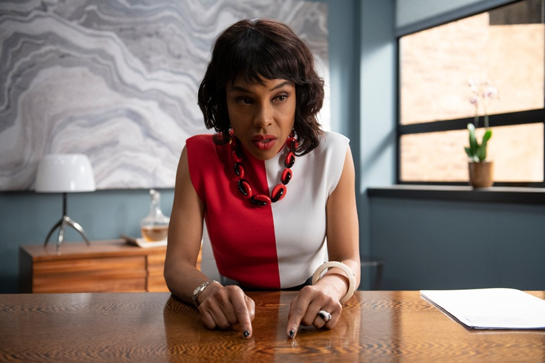 Sophie Okonedo plays the role of Caroline in 'Flack' (Souce: Pop TV)