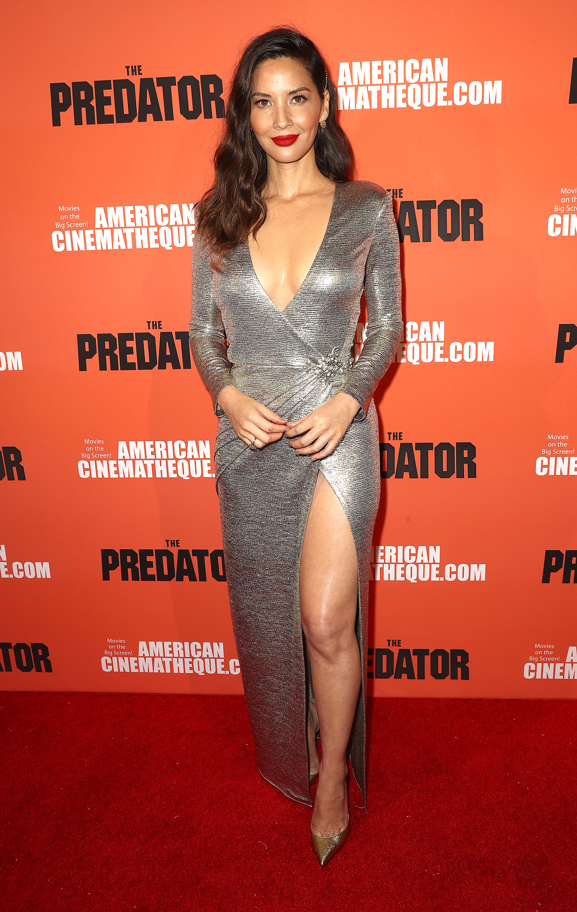 Actress Olivia Munn attends the Screening of 20th Century Fox's 'The Predator' September 12, 2018, in Hollywood, California. (Getty Images)