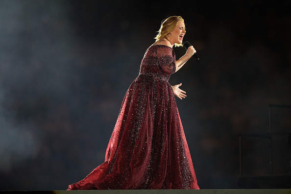 Adele performs at Etihad Stadium on March 18, 2017, in Melbourne, Australia (Getty Images)