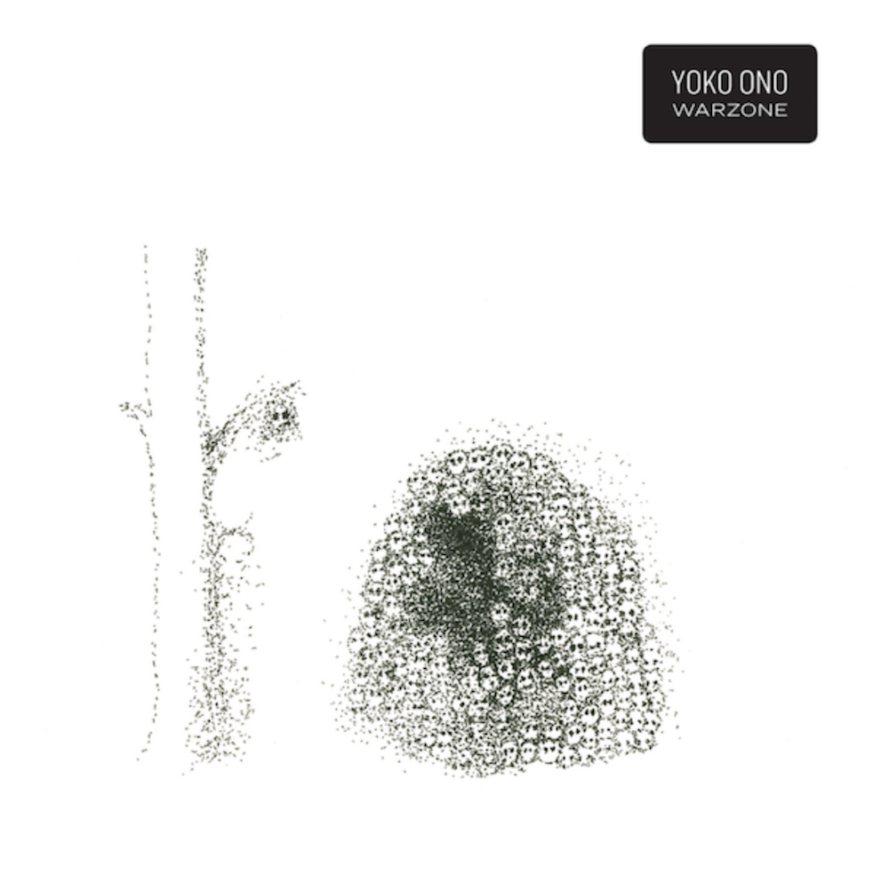 Album art for Yoko Ono's 'Warzone'.