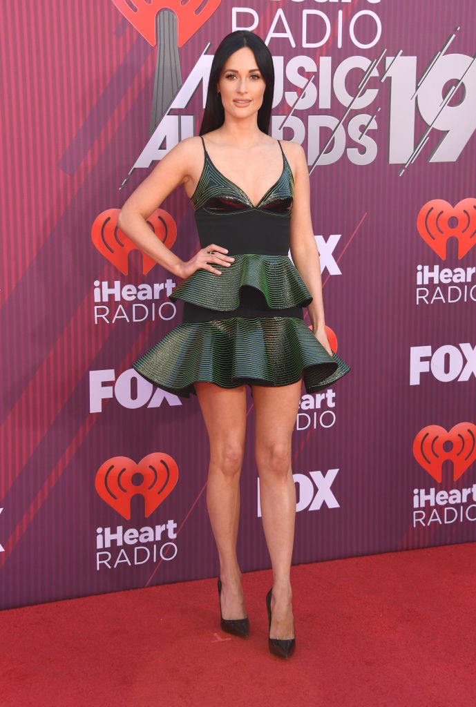 Kacey Musgraves attends the 2019 iHeartRadio Music Awards which broadcasted live on FOX at Microsoft Theater on March 14, 2019 in Los Angeles, California. (Photo by Frazer Harrison/Getty Images)