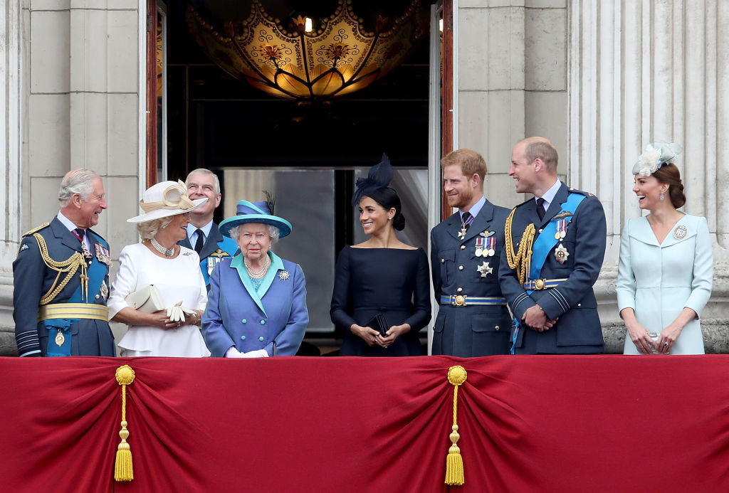The royal family (Getty Images)