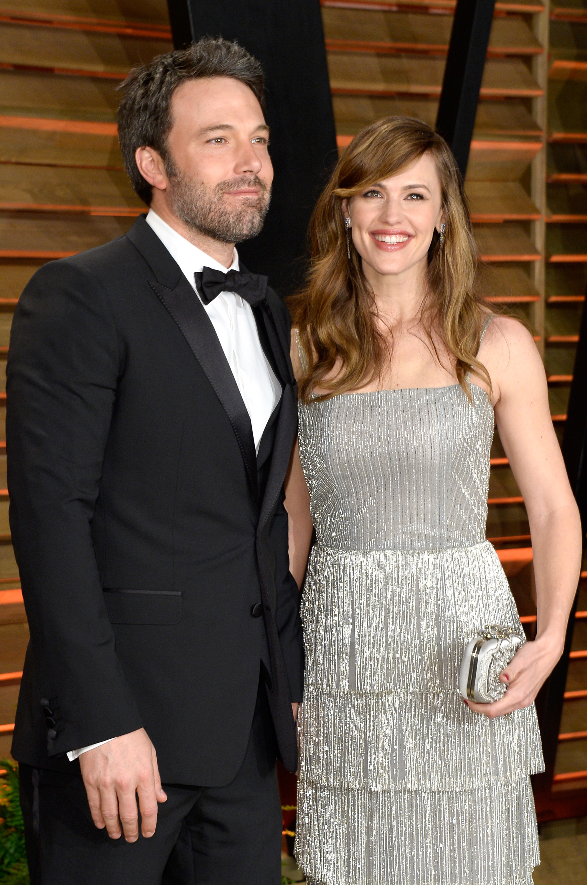 Actors Ben Affleck (L) and Jennifer Garner attend the 2014 Vanity Fair Oscar Party hosted by Graydon Carter on March 2, 2014, in West Hollywood, California. (Getty Images)