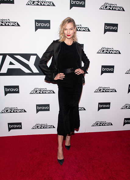 Karlie Kloss attends Bravo's 'Project Runway' New York Premiere at Vandal on March 07, 2019, in New York City. (Photo by Noam Galai/WireImage)